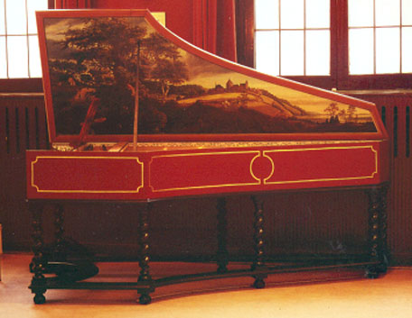 Harpsichord after Ruckers-Taskin